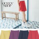 A字裙設計修飾整體腿型後鬆緊穿脫方便不拘束多種顏色隨心所欲輕鬆打造休閒簡約LOOK