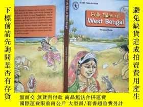 二手書博民逛書店Folk罕見Tales of West BengalY19883