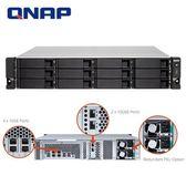 QNAP 威聯通 TS-1273U-RP-8G 12Bay NAS 網路儲存伺服器