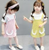 618好康鉅惠女寶寶連身裙夏季幼兒春裝女童裝公主