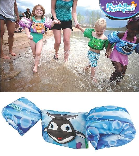 兒童泳衣 浮力夾克 美國學習式救生浮力衣 Puddle Jumpe 鯊魚 豪華立體版 體重:14-23公斤 2-6歲