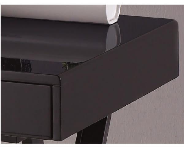 【YUDA】喬伊斯 4尺 三抽 黑色黑腳 鋼烤書桌 J8F 386-1