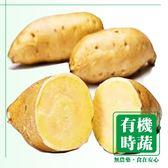 【有機認證生鮮時蔬】黃肉地瓜 ( 550-600g /包)
