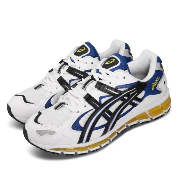 Asics 慢跑鞋 Gel-Kayano 5 360 白 藍 Tiger 男鞋 運動鞋 【PUMP306】 1021A159100