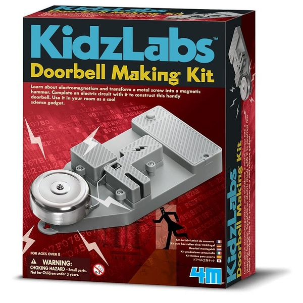 【4M】科學探索系列 - 動手做門鈴 Doorbell Making Kit 00-03368