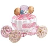 〔小禮堂〕迪士尼 長髮公主 TOMICA小汽車《粉.馬車》模型.公仔.玩具 4904810-11578