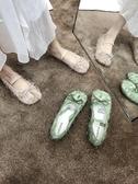 豬蹄鞋 蘇單鞋女2020平底韓版分趾鞋百搭拖鞋女外穿淺口豬蹄鞋軟 小天後