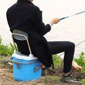魚箱釣魚箱配件裝魚桶可坐迷你小釣箱多功能 巴黎春天