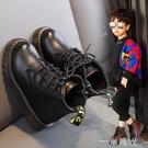 男童馬丁靴2020秋款復古英倫風短靴學生帥氣韓版加絨兒童機車靴潮  一米陽光