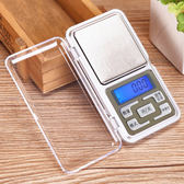 ♚MY COLOR♚ 便攜迷你口袋電子秤 精準 廚房 家用 實驗 精度 磅秤 實用 輕巧 重量【X24-2】
