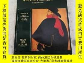 二手書博民逛書店A罕見HISTORY OF WESTERN SOCIETY (