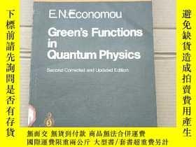 二手書博民逛書店green s罕見functions in quantum physics(P1701)Y173412