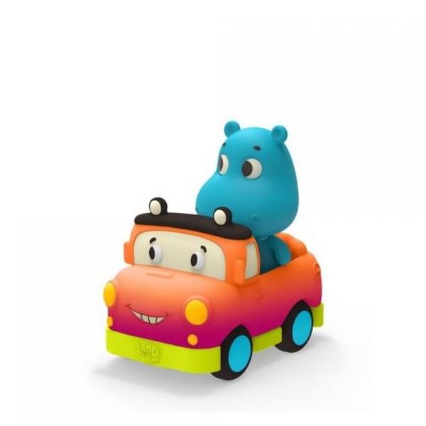 《 美國 B.toys 感統玩具 》迷你車長 - 噴噴與穆迪 / JOYBUS玩具百貨