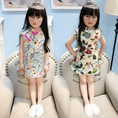 女童旗袍洋裝中國風 免運