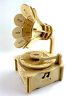 【收藏天地】童玩世界*留聲機音樂盒DIY體驗包 / 文創 送禮 玩具 組裝 拼圖 觀光 禮物 趣味 懷舊