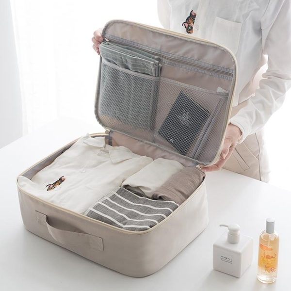 拉桿箱旅行包女手提韓版短途小出差旅游大容量輕便簡約行李收納袋