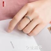 海誓山盟 925純銀情侶戒指一對女男復古簡約活口泰銀對戒個性禮物 金曼麗莎