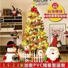 現貨24H快速發貨 聖誕樹2.1米套餐節日裝飾品發光加密裝2.1米大型豪華韓版MBS  自由角落