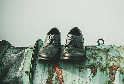 FINDSENSE MD 日系 高品質 時尚 潮 男 綁帶 低幫 低跟休閒鞋 皮