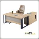 {{ 海中天休閒傢俱廣場 }} G-35 摩登時尚 商業OA 辦公桌系列 606-2A 貝克6尺主管桌組(全組)