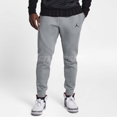 Nike 長褲 JORDAN SPORTSWEAR FLIGHT TECH FLEECE 灰 黑 男款 運動長褲 【PUMP306】 879500-091