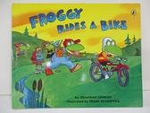 【書寶二手書T1/原文小說_D1U】Froggy Rides a Bike_London, Jonathan/ Remkiewicz, Frank (ILT)