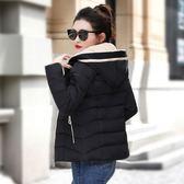冬裝新款棉衣女短款韓版修身羽絨棉服反季小棉襖學生加厚外套 草莓妞妞