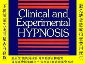 二手書博民逛書店Clinical罕見and Experimental Hypnosis-臨床與實驗催眠Y361738 Will