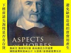 二手書博民逛書店Aspects罕見of HobbesY191550 Noel M