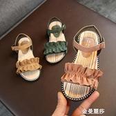 夏季新款韓版女童涼鞋兒童時尚小童公主鞋小女孩網紅女寶寶鞋 極簡雜貨