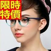 眼鏡架-圓型復古潮流超輕女鏡框5色64ah19【巴黎精品】