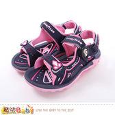 中大女童運動涼鞋 魔法Baby