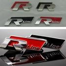 VW GOLF 高質感車標 R貼標 RLINE 貼標 車身標 後車箱貼 黑色 紅色 沂軒精品 A0199