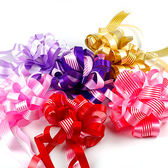 幸福婚禮小物❤DIY繽紛條紋手拉花❤婚禮用品/會場布置/門把花/手把花