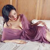 情趣套裝 胖妹妹大碼情趣內衣睡衣女性感火辣短激情套裝騷 df8426【大尺碼女王】
