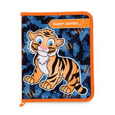 Tiger Family-Smart Kids 3D互動魔法著色繪本 - 老虎遊樂園-8支組