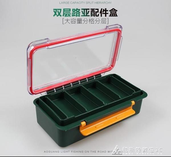 漁具釣魚大配件盒小工具儲物盒魚鉤假餌雷蛙收納盒路亞磯垂釣用品 酷斯特數位3c