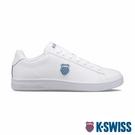 【超取】K-SWISS Court Shield時尚運動鞋-男-白/藍
