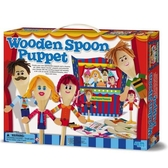 《4M美勞創作》Wooden Spoon Puppet湯匙木偶劇團╭★ JOYBUS玩具百貨