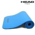HEAD海德 專業瑜珈墊/運動墊(藍)-10mm 送工字背帶