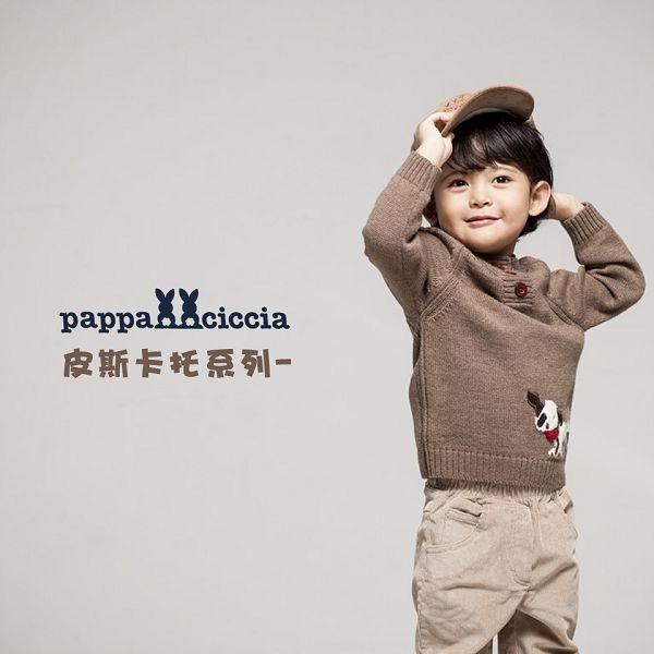【愛的世界】半高領混羊毛毛衣/4~8歲-台灣製- - ---秋冬上著