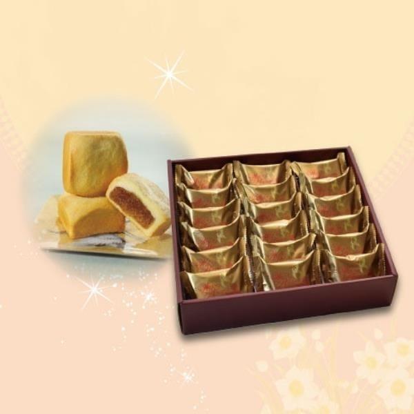 【南紡購物中心】【吳記餅店】18入黃金鳳梨酥-一盒組