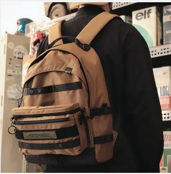 Matchwood (新品促銷價) Clutch 3WAY 軍事多功能後背包 基本防潑水 筆電夾層-3色