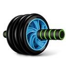 雙三輪健腹輪腹肌輪減肚子瘦腰腹滾輪神器健腹器健身器材靜音家用CY『新佰數位屋』