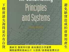 二手書博民逛書店Air罕見Conditioning Principles And Systems (3rd Edition)-空調