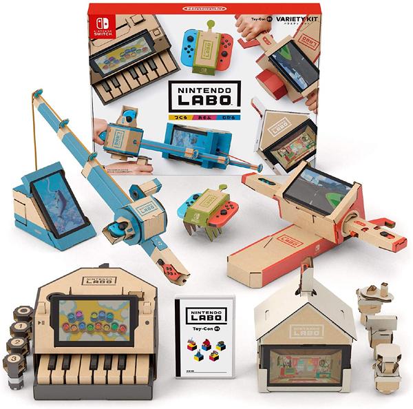 NS 任天堂實驗室 Toy-Con01 VARIETY KIT