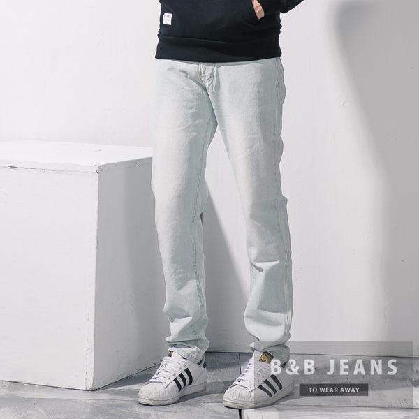 美式質感手作刷白牛仔褲