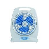 【中彰投電器】雙星(10吋)手提箱扇,TS-1006【全館刷卡分期+免運費】三段風速調整~