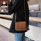 斜背包 北包包小包包女2021新款潮女包時尚斜背包側背馬鞍包網紅百搭ins 智慧e家 新品
