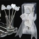 婚禮小物-wedding禮讚水果叉-送精緻小卡(浪漫婚禮殿堂水果叉) -送客禮/活動禮/姊妹禮 幸福朵朵